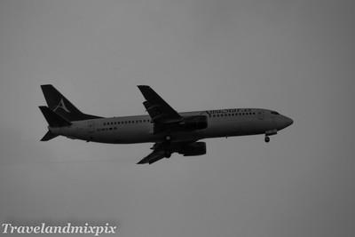 EC-LTG Boeing 737-4YO AlbaStar Glasgow Airport 27/05/2017