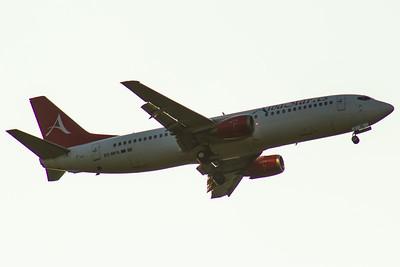 EC-MFS Boeing 737-4Y0 AlbaStar Glasgow Airport 05/06/2016