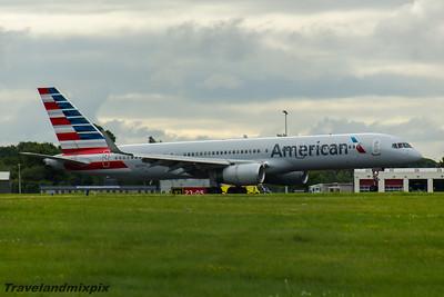 N200UU American Airlines Boeing 757-2B7 Glasgow Airport 26/07/2016