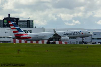 N206UW American Airlines Boeing 757-2B7 Glasgow Airport 22/05/2016