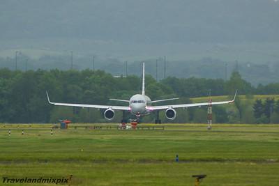 N937UW American Airlines Boeing 757-2B7 Glasgow Airport 13/06/2015