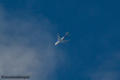 N499MC Atlas Air Boeing 747-47UF 24/08/2016 Operating a service on behalf of FedEx cruising at 32,000 feet