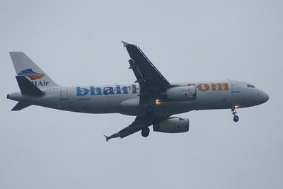 LZ-BHG BH Air (Balkan Holidays) Airbus A320-232 Glasgow Airport 15/06/2014