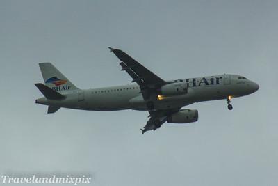 LZ-BHI BH Air (Balkan Holidays) Airbus A320-232 Glasgow Airport 22/07/2017