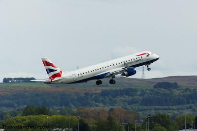Embraer E170/E190 of BA CityFlyer