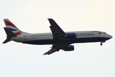 G-DOCZ British Airways Boeing 737-436 Glasgow Airport 25/07/2014 Withdrawn in December 2014