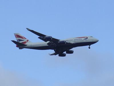 Boeing 747's of British Airways