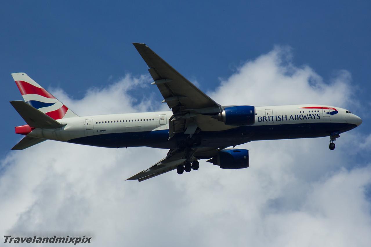 G-YMMI British Airways Boeing 777-236(ER) 29/05/2016 Glasgow Airport