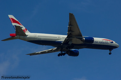 G-YMMI British Airways Boeing 777-236(ER) 29/05/2016 Glasgow Airport