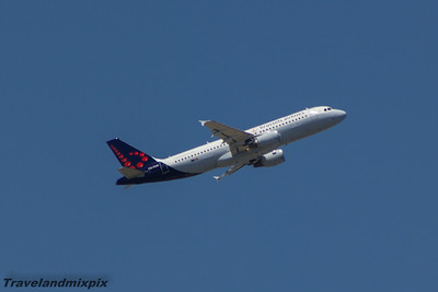OO-TCQ Brussels Airlines Airbus A320-214 Malaga Airport 29/06/2015