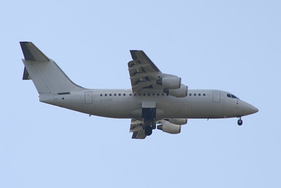 G-LENM Cello Aviation British Aerospace Avro 146-RJ85 Glasgow Airport 25/07/2014 Operating on behalf of BA Cityflyer