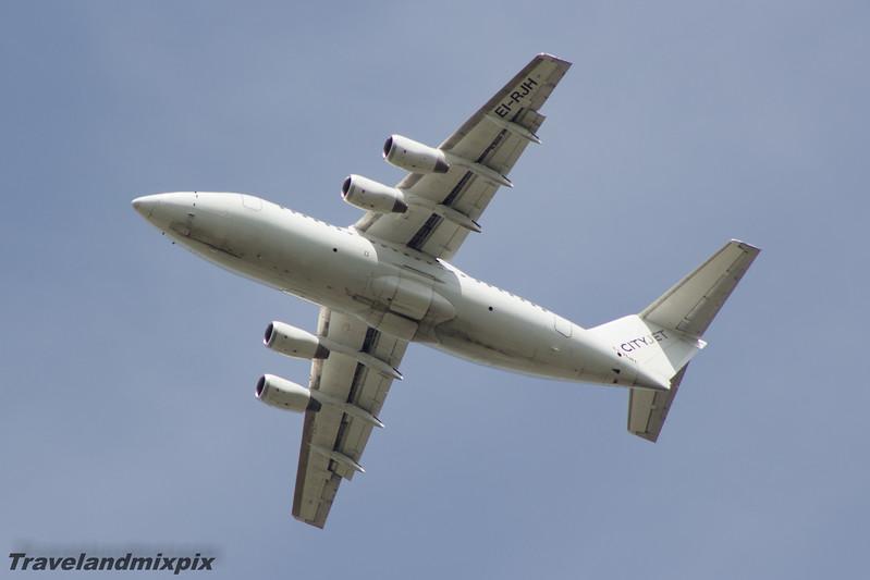 EI-RJH<br /> Cityjet<br /> British Aerospace Avro 146-RJ85<br /> Glasgow Airport<br /> 30/05/2015