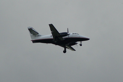 Linksair British Aerospace BAe 3102 Jetstream 31 (G-LNKS) on a Citywing service approaching Glasgow Airport