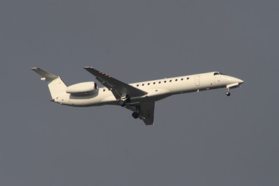 G-CGWV Eastern Airways Embraer EMB-145MP (ERJ-145MP) on approach to Glasgow Airport