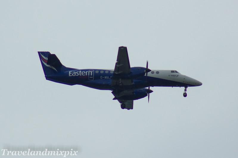 G-MAJU<br /> Eastern Airways<br /> British Aerospace BAe 4101 Jetstream 41<br /> Glasgow Airport<br /> 27/05/2017