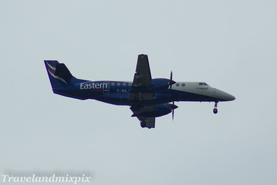 G-MAJU Eastern Airways British Aerospace BAe 4101 Jetstream 41 Glasgow Airport 27/05/2017