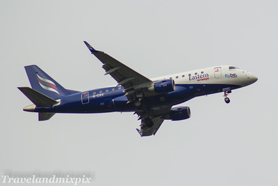 G-CIXV Embraer ERJ-170 LR (ERJ-170-100 LR) Eastern Airways Glasgow Airport 18/10/2017