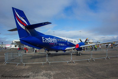 G-MAJU Eastern Airways British Aerospace BAe 4101 Jetstream 41 Scottish Airshow Prestwick Airport 06/09/2015