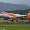 G-EZDL<br> EasyJet<br> Airbus A319-111<br> Glasgow Airport<br> 26/07/2017<br> <i>Europcar livery</i>