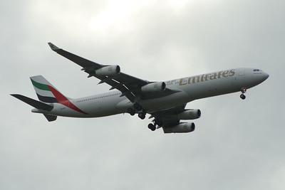Airbus A340's of Emirates