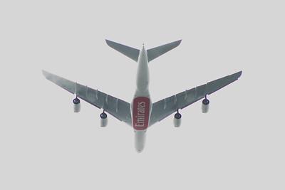 Airbus A380's of Emirates