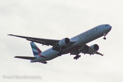 A6-EBN Emirates Airways Boeing 777-36N(ER) Glasgow Airport 03/05/2017