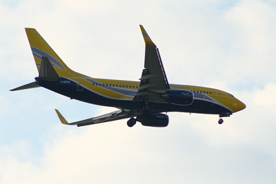 F-GZTF Europe Airpost Boeing 737-73S Glasgow Airport 25/07/2014