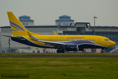 F-GZTH ASL Airlines France (Europe Airpost) Boeing 737-73S Glasgow Airport 17/10/2015