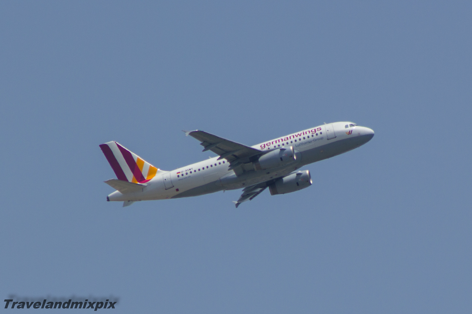 D-AGWY Germanwings Airbus A319-132 Malaga Airport 01/07/2015