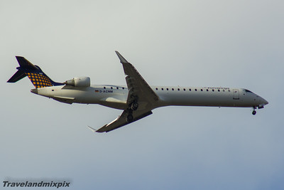 D-ACNM Eurowings  Canadair CL-600-2D24 Regional Jet CRJ-900 Glasgow Airport 06/11/2016