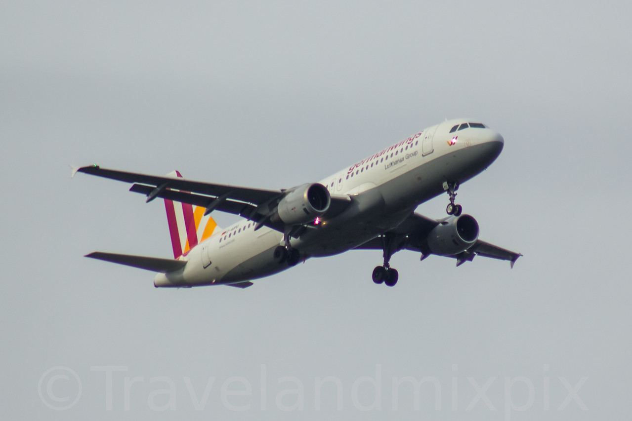 D-AIPU Germanwings Airbus A320-211 Glasgow Airport 06/02/2017