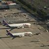 FedEx Express Airbus A300-622RF (N723FD) and Boeing 757-23ASF (N919FD) freighters at Paris Charles de Gaulle