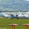 G-ECOD<br /> Flybe<br /> de Havilland Canada DHC-8-402Q Dash 8<br /> Glasgow Airport<br /> 24/06/2017