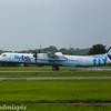 G-ECOJ<br /> Flybe<br /> de Havilland Canada DHC-8-402Q Dash 8<br /> Glasgow Airport<br /> 26/07/2017