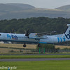 G-JECX<br /> Flybe<br /> de Havilland Canada DHC-8-402Q Dash 8<br /> Glasgow Airport<br /> 26/07/2017