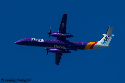 de Havilland Canada DCH-8-402Q Dash 8's of  flybe