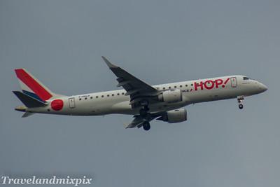 F-HBLB HOP! Embraer ERJ-190LR (ERJ-190-100 LR)  Glasgow Airport 30/04/2017