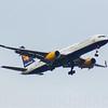 TF-ISK<br /> Icelandair<br /> Boeing 757-223<br /> Glasgow Airport<br /> 09/02/2017
