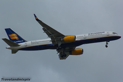 TF-FIR Icelandair Boeing 757-256 Glasgow Airport 25/06/2016