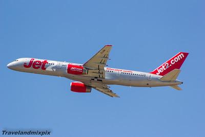 G-LSAI Jet2 Boeing 757-21B Malaga Airport 27/06/2015