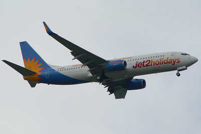 G-GDFD Jet2 Boeing 737-8K5 Glasgow Airport 15/06/2014 This is the oldest Boeing 737-800 in the Jet2 fleet and the 8th B738 of the production line, new to Hapag-Lloyd in December 1998
