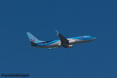 OO-JAU Jetairfly Boeing 737-8BK Malaga Airport 24/06/2015