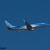 OO-JAU<br /> Jetairfly<br /> Boeing 737-8BK<br /> Malaga Airport<br /> 24/06/2015