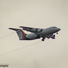 G-JOTR<br> Jota Aviation<br> British Aerospace Avro RJ85<br> Glasgow Airport<br> 25/08/2016<br> <i>Operating on behalf of BA Cityflyer</i>