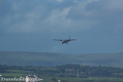 G-BVVK Loganair de Havilland Canada DHC-6-310 Twin Otter Glasgow Airport 26/07/2017