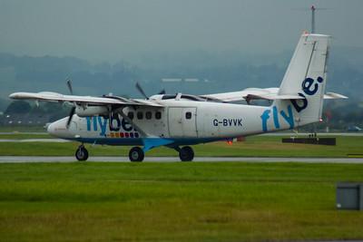 G-BVVK Loganair de Havilland Canada DHC-6-310 Twin Otter Glasgow Airport 19/08/2015