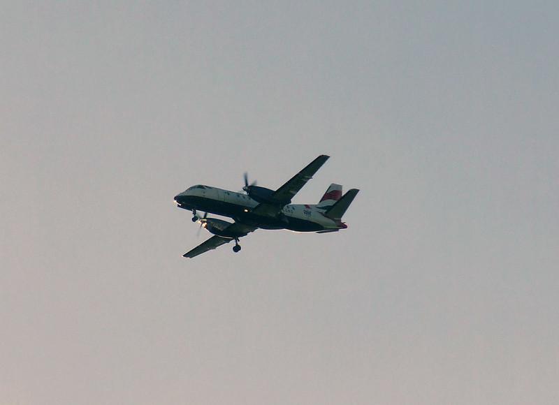G-LGNG<br /> Loganair<br /> Saab 340B<br /> Glasgow Airport<br /> 22/01/2007