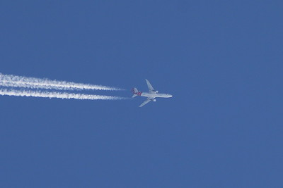 PH-MCP Martinair Cargo McDonnell Douglas MD-11F On a service from Amsterdam to Orlando cruising at 32,000 feet.