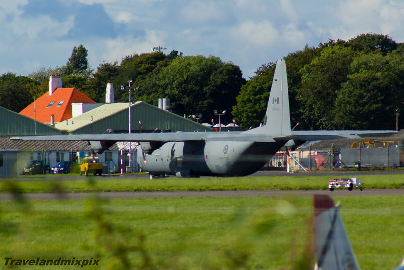 130613<br> 436 Transport Squadron<br> Royal Canadian Air Force<br> Lockheed-Martin CC-130J Super Hercules<br> Prestwick Airport<br> 04/09/2016<br>