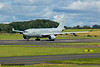 ZZ334<br> Airbus Voyager KC3<br> Royal Air Force<br> 10/101 Squadron<br> Prestwick Airport<br> 30/07/2016<br>